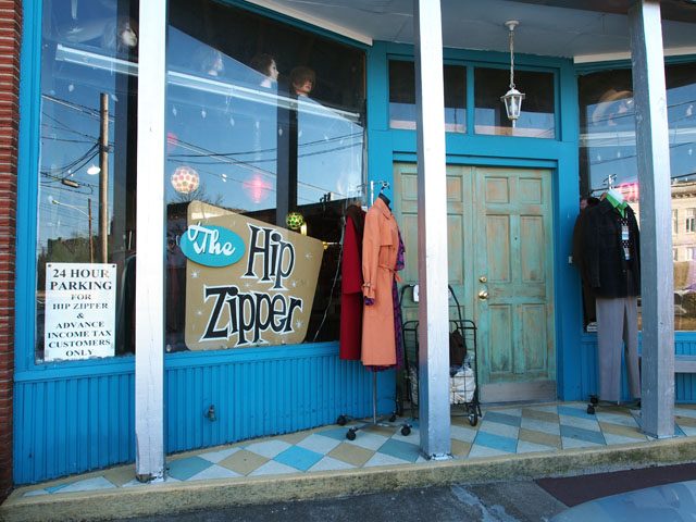 The Hip Zipper vintage - Nashville TN
