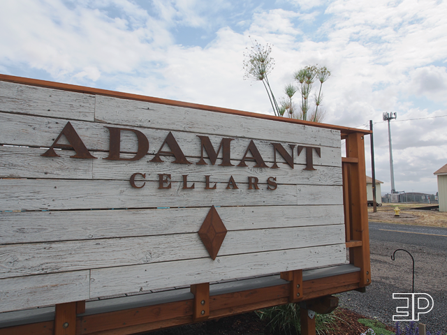 Adamant Cellars in Walla Walla, WA. Part of the airport district wine region. - via The Emerald Palate