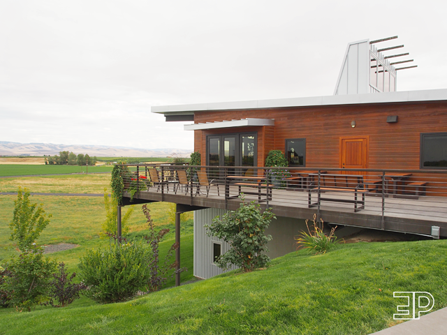 Amavi Cellars in Walla Walla, WA. - via The Emerald Palate