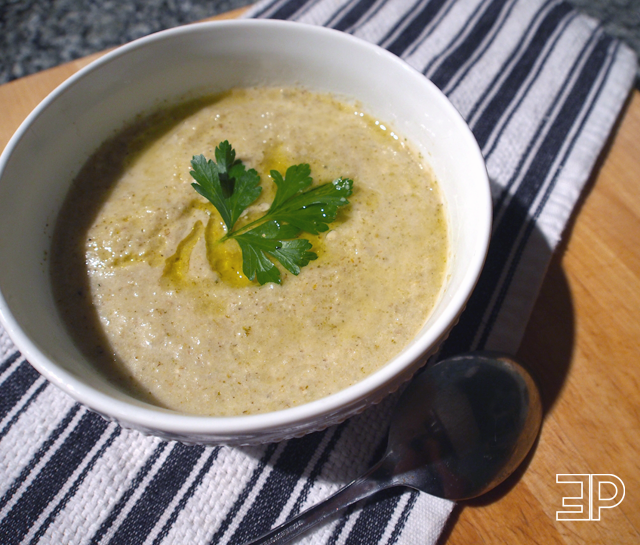 Healthy Cream of Broccoli and Cabbage Soup Recipe | The Emerald Palate
