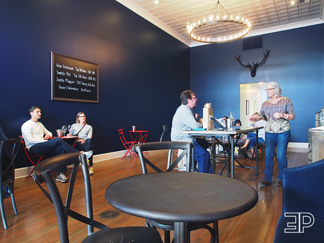 inside the Maison Bleue Winery in Walla Walla, WA. -  via The Emerald Palate