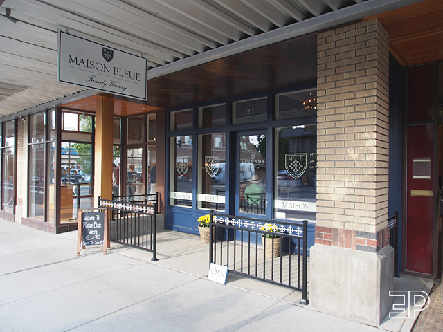 Maison Bleue Winery in Walla Walla, WA. - via The Emerald Palate