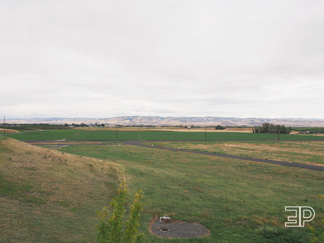 The Walla Walla wine region of WA is a gorgeous, high-desert landscape. - via The Emerald Palate