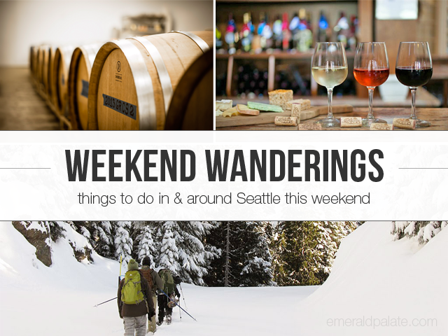 Weekend Wanderings is a series outlining all the best things to do in Seattle and its surrounding areas. Curated by The Emerald Palate.