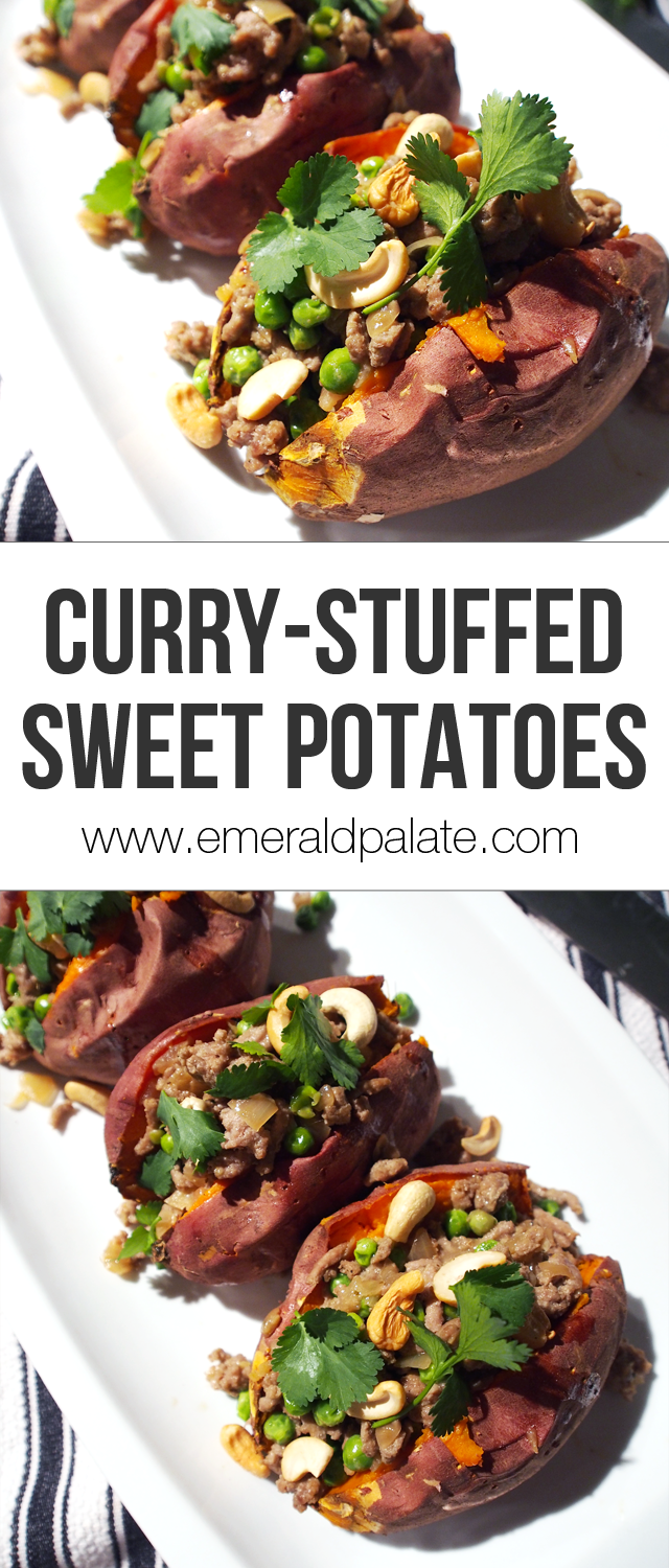 recipe? Try these curry stuffed sweet potatoes filled with curried ...