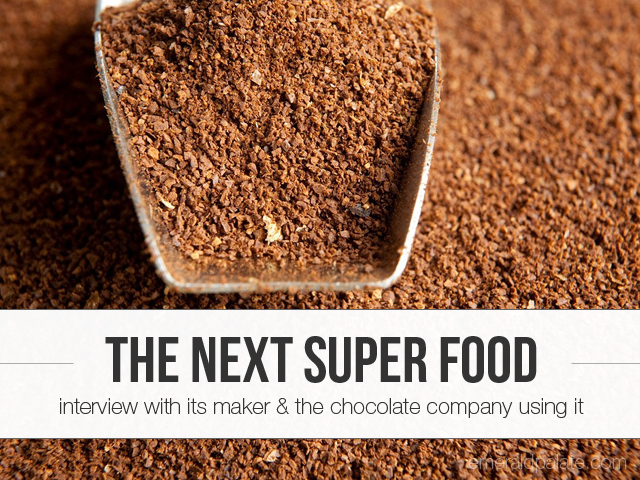 We sat down with the founder of CoffeeFlour, the next super food, and jcoco Chocolate, the company that's bringing CoffeeFlour to the masses by putting it in their chocolate bars.