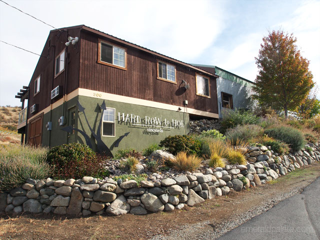 Hard Row to Hoe winery in Lake Chelan, WA