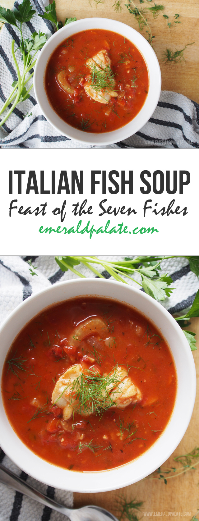 Italian fish soup a feast of the seven fishes recipe for Italian fish recipes