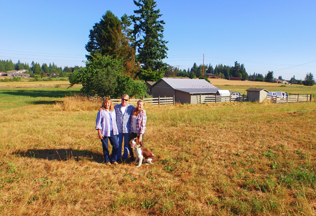The owners of Farm Shed Wines, a family business that sells sustainable wines from Pacific Northwest wineries that makes under 2000 cases/year and use sustainable methods for developing their wine.