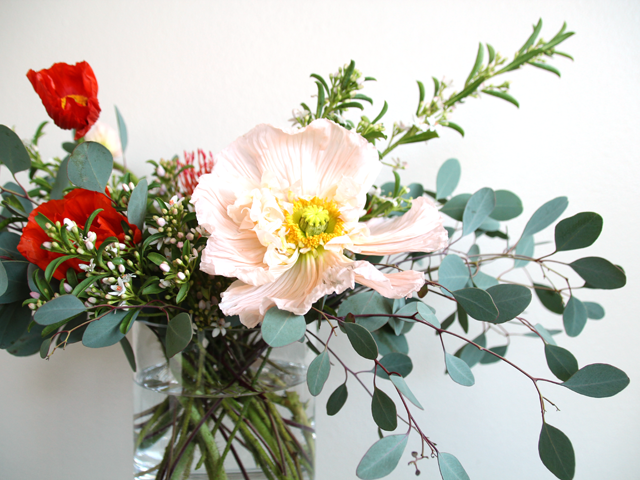Beautiful flower arrangement from The Stemmery in Seattle, a subscription floral delivery service that handpicks flowers to deliver to your door.