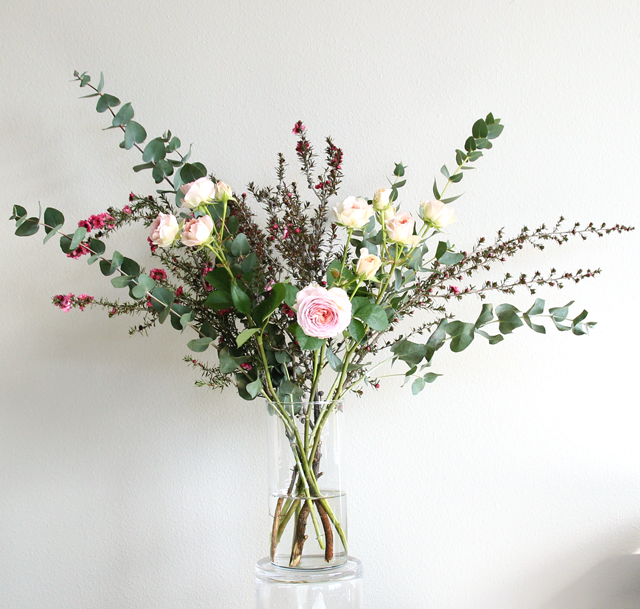 These beautiful flower arrangements can be hand delivered to your door through The Stemmery, a Seattle-based flower subscription service.