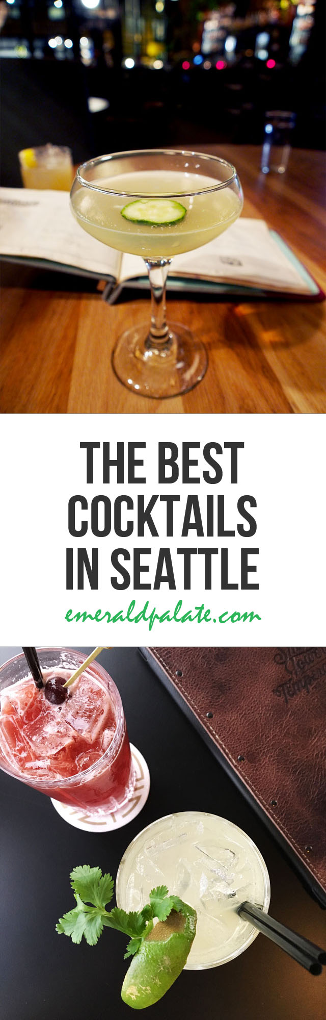 Seattle's craft cocktail bar scene is on point. These are the best cocktails in Seattle you must try.