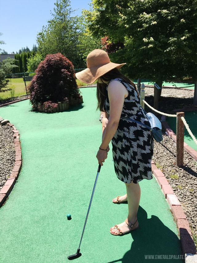 Mini golf in Olympia WA