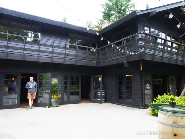 This is JM Cellars, one of the wineries that made it onto my list of the best Woodinville wineries.