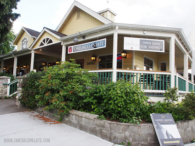 Obelisco Estates is one of the best wineries in Woodinville, which is a WA town 30-min away from Seattle.