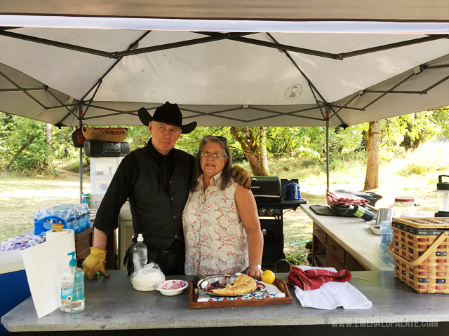 The owners of Century Farm Equestrian Center in Willamette Valley Oregon.