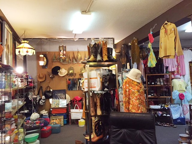 The Fremont Vintage Mall in Seattle is a great antique mall for furniture and home decor.