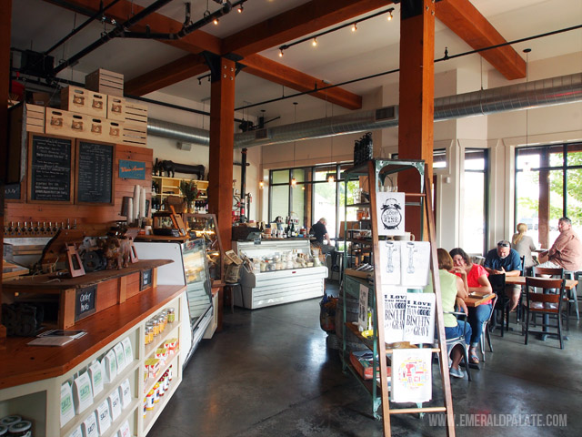 Red Hills Market is a great place to pick up picnic goods and souvenirs in Willamette Valley Wine Country in Oregon.