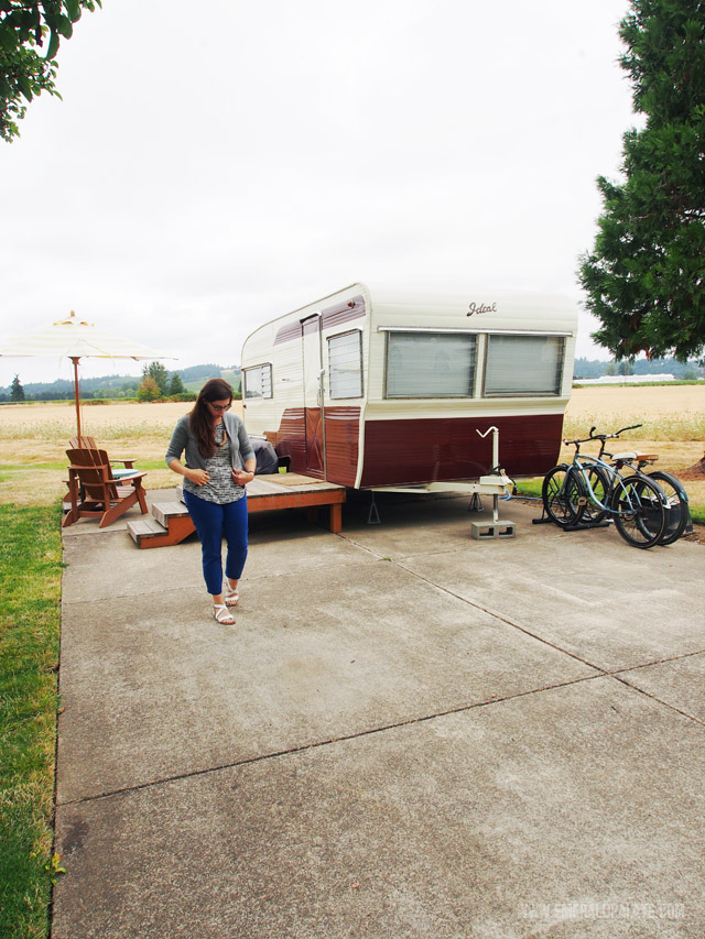 Our stay at The Vintages Trailer Resort in Willamette Valley, Oregon. A very unique glamping experience in Oregon!