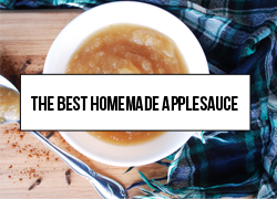 The best homemade applesauce recipe handed down to me by my mother. You won't find an easier, tastier, and healthier applesauce recipe than this. It is foolproof!