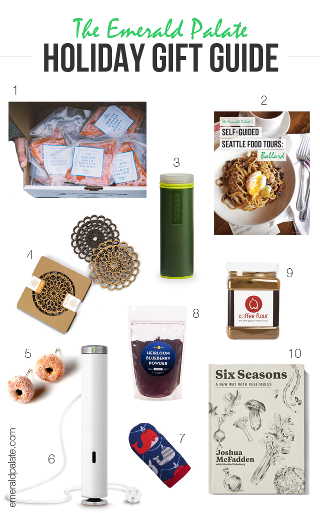 Seattle-made gifts for foodies. You will find everything for the food lovers in your life in this holiday gift guide for both men and women.