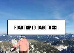 Link to a travel guide about how to road trip from Seattle to Idaho to ski Idaho. It includes the best ski resorts in Idaho and stops to make along the way.