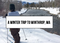 Link to a guide about how to spend winter in Winthrop, WA, a great destination for cross-country skiing, a hot air balloon festival, and snowshoeing.
