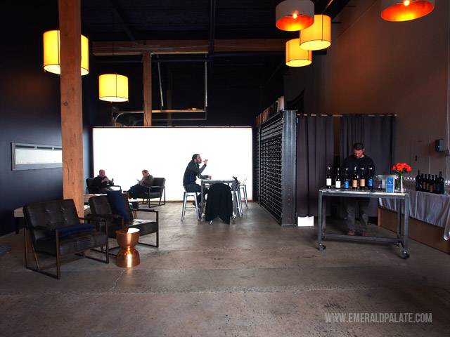 Structure Cellars is one of the best Seattle wineries. You do not have to leave the city limits to find wine tasting in Seattle!