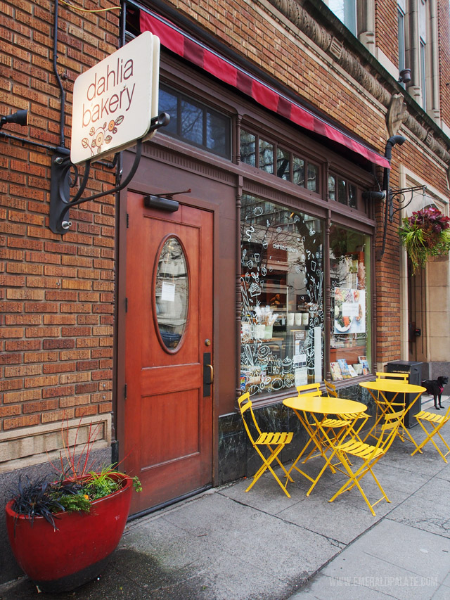 A small bakery in downtown Seattle.